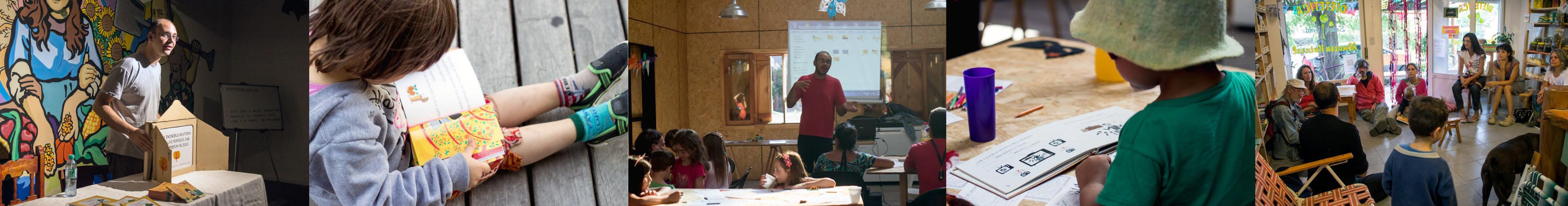 Presentaciones y actividades en escuelas, centros culturales y demás espacios educativos!